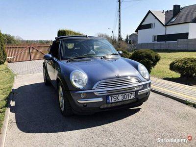 używany Mini Cooper Cabriolet 1,6 116KM Skóra Klima Alu