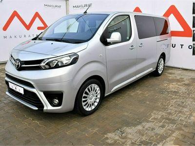 używany Toyota Proace Polski Salon,FV23%,8-osobowy,Automat,Czujniki park,tempomat,