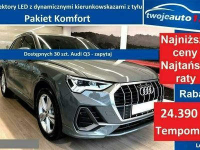 używany Audi Q3 Sportback 35 TDI S tronic, Pakiet Komfort, Tempomat, OD RĘKI