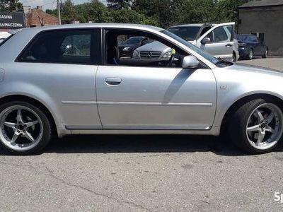 używany Audi S3 8L 2001 rok 1.8 Turbo 4x4 210/260 km