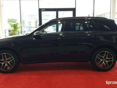 używany Mercedes GLC220 Black Edition, AMG Line, salon PL, I wł, gwarancja, dostawa w cenie