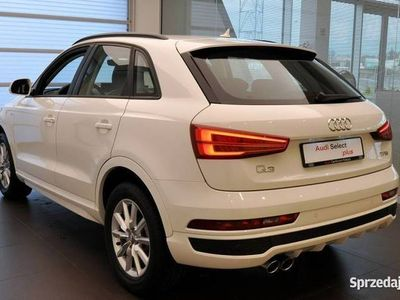 używany Audi Q3 1.4TFSI 150KM Automat S-line Skóra Navi Led FV-23% PL Gwarancja (2014-2018)