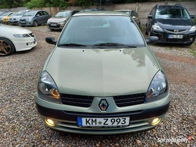 używany Renault Clio 1.2i*75*KM*KLIMA*niemcy*serwis*ASO*stan*BDB II (1998-2012)