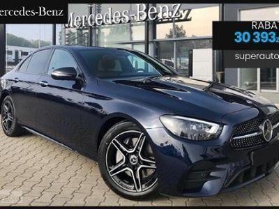 używany Mercedes 220 Klasa E AMG BE 2.04MATIC (194KM) | AMG + Premium | Nowy Model 2020!