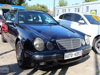 używany Mercedes 320 Klasa E W210320CDI * Bogate wyposażenie * Automat * Gwarancja
