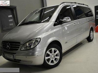 used Mercedes Viano 2.2dm3 150KM 2008r. 277 000km * F. VAT 23% * 2.2 DCI * LONG **TREND** 2 x DRZWI ** WEBASTO ** STOLIK