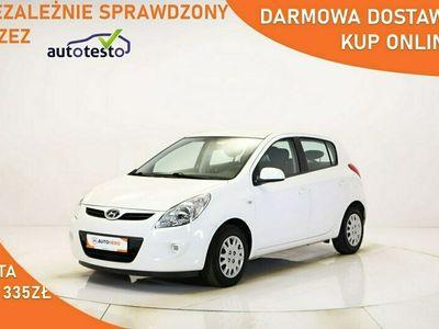 używany Hyundai i20 DARMOWA DOSTAWA, Klima, Kierownica wielofunkcyjna, Hist.serwisowa I (2008-2014)