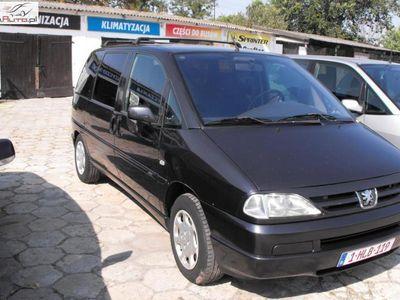 używany Peugeot 806 2.0 2002r. ręczna klima.