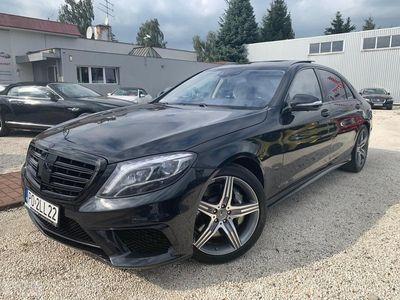 używany Mercedes S63 AMG Klasa S W222AMG 4-Matic Long W222 585 KM Black Edition