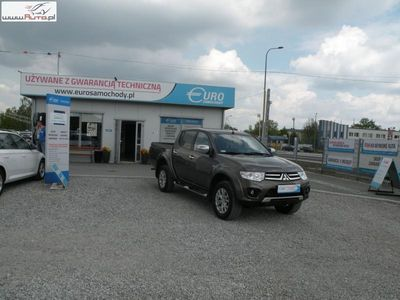 używany Mitsubishi L200 2.5dm3 180KM 2014r. 137 000km Salon Polska 4x4 Automat