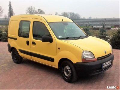 używany Renault Kangoo 1.5 DCI 82 KM 2002 189000 km VAT-1 CIĘŻAROWY