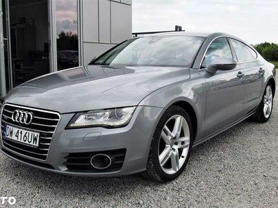 używany Audi A7 I (4G) 3.0TDi 245KM 2014r Quattro, Lane Assist, Xenon+LED, PL Salon, FV23%