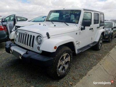 używany Jeep Wrangler Unlimited WranglerSahara 3.6 285 KM automat 2018 III (2006-)