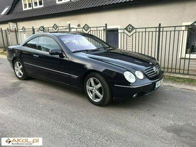 używany Mercedes CL600 5.8dm 370KM 2000r. 196 000km