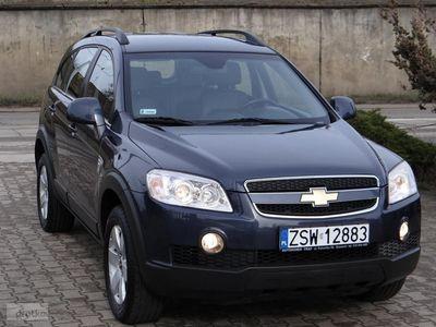 używany Chevrolet Captiva I 2.0-150 KM-4x4-Salon Polska-Serwis w Aso-Gwarancja