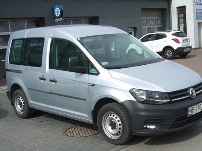 używany VW Caddy VolkswagenIV 2.0 TDI 102kM Kombi TOURAN Model 2017