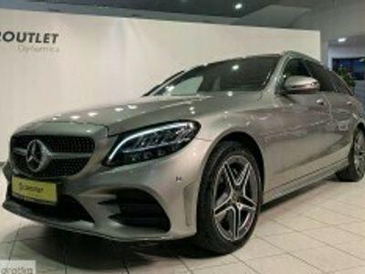 używany Mercedes 200 Klasa C W205Pakiety AMG, 9-GTronic, 4matic, salon PL, I właściciel, VAT, gwa