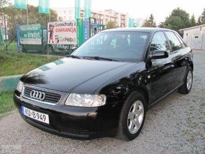 używany Audi A3 I (8L) 1.6 Attraction-FUL OPCJA-stan idealny-SERWIS-NIEM