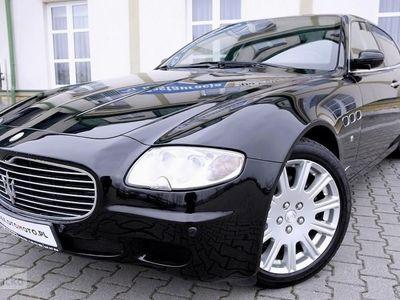 używany Maserati Quattroporte V V8 4.2 401KM/Silnik Ferrari/Skrzynia F1/Bezwyp/Skóry/BiXenon/GWARANC