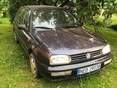 używany VW Golf III 1995 r., poj. 1,6