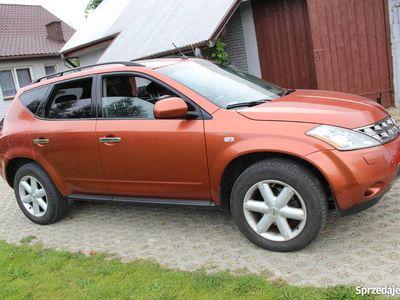 używany Nissan Murano 2006r 3.5v6 benzyna+LPG 4x4AWD SUV oryg lakier