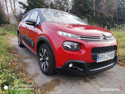 używany Citroën C3 III 2018r.SHINE /1,2 82 KM+opony letnie