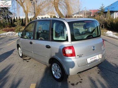 używany Fiat Multipla Multipla 1.6dm3 103KM 2005r. 211 000km1.6 16V Lift 2005 Gwrancja Opłacona