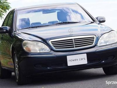 używany Mercedes S500