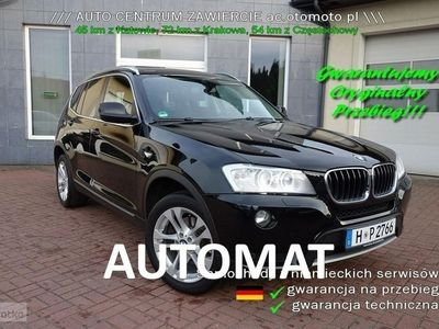 używany BMW X3 2dm 183KM 2013r. 179 000km