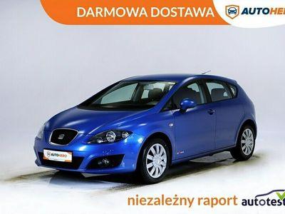 używany Seat Leon DARMOWA DOSTAWA, 1 Właściciel, Klima auto, Navi, Kierownica wielofunkc II (2005-2012)