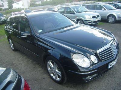 używany Mercedes E280 klasa E 3.0 BenzAVANTGARDE wersja EVO, 3.0 CDI, 2008r.