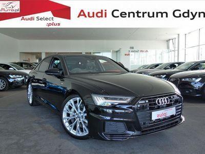 używany Audi A6 3dm3 340KM 2018r. 22 824km 55TFSI, Kam360, Pneumatyka, NightVision, 21cali, Pakiet Czerń