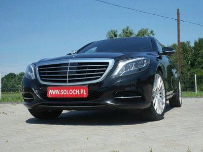 używany Mercedes S350 3dm 258KM 2014r. 93 000km