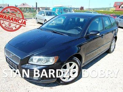 używany Volvo V50 1.6dm3 109KM 2006r. 290 000km VIN/Tempomat/Przebieg gwar/Parktronik/Zadbany/Import