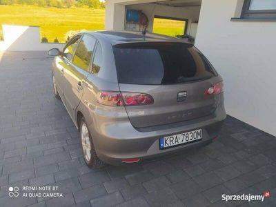 używany Seat Ibiza 1.4 2008 r 5 drzwi KLIMA ALU