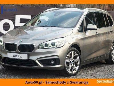 używany BMW 220 d GT 7 osobowe 4x4 Kamera AktywnyTempomat SALON PL FV