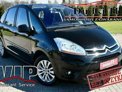 używany Citroën C4 Picasso 1,8+Gaz DUDKI11 Gaz,Manual,Parktronic,Panorama Dach,Hak.GWARANCJA I (2006-2013)