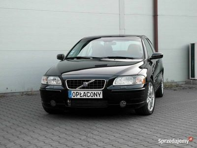 używany Volvo S60 LIFT 2.4 D5 185KM manual 2006r skóra SUMMUM