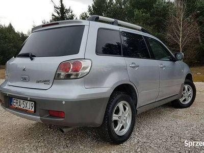 używany Mitsubishi Outlander 2dm 136KM 2003r. 215 285km
