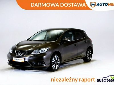 używany Nissan Pulsar DARMOWA DOSTAWA, Navi, Grzane fotele, Kam. cofania, Kierownica wielofu I (2014-)