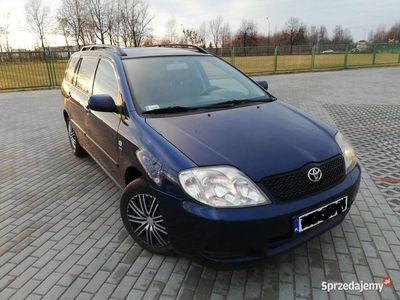 używany Toyota Corolla e12 1.4 vvti 2002 90KM rozrząd na Łańcuszku!!