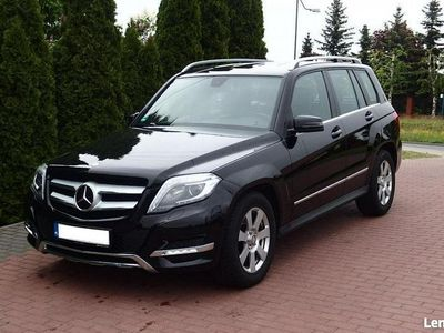 używany Mercedes GLK220 2.2dm3 170KM 2014r. 57 000km 4 matic Xenon Navi Alkantara Serwisowany