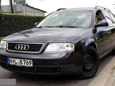 używany Audi A6 II (C5) 2.4 V6 165km. Manual Jasne Skóry Klimatronic Tanio z Niemiec