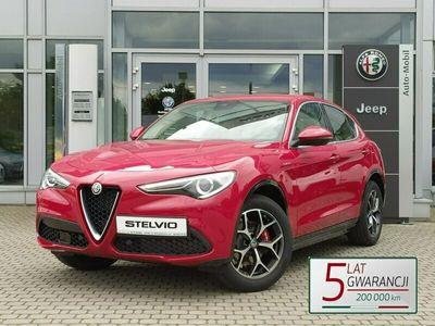 używany Alfa Romeo Stelvio TI beżowa skóra, teraz 5 lat gwarancji