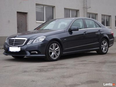 używany Mercedes 220 E-KlasaCDI AVANGARDE Zadbany Stan doskonały