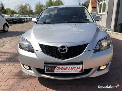 używany Mazda 3 1.6dm3 105KM 2004r. 155 000km Serwis, Gwarancja, Okazja