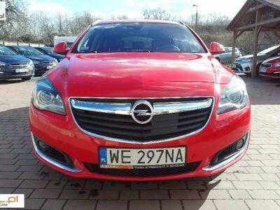 używany Opel Insignia 2dm3 170KM 2016r. 135 000km salon polska COSMO Tempomat aktywny Gwarancja 6 miesięcy w cenie