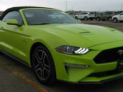 używany Ford Mustang GT Mustang GREEN Premium 2020 8 CYLINDER BENZ. 450KM 24864KM VI (2014-)