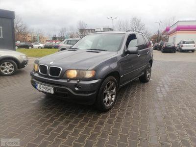 używany BMW X5 I (E53) 2002r 3.0Diesel 184KM Automat Klima Możliwa Zamian
