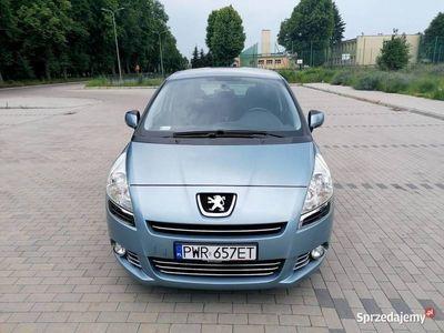 używany Peugeot 5008 1,6 Benzyna 2010r Bezwypadkowy Zadbany